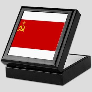 Russia - Soviet Union Flag -1923-1991 Keepsake Box