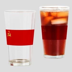 Russia - Soviet Union Flag -1923-1991 Drinking Gla