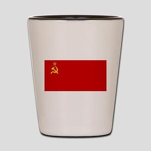 Russia - Soviet Union Flag -1923-1991 Shot Glass