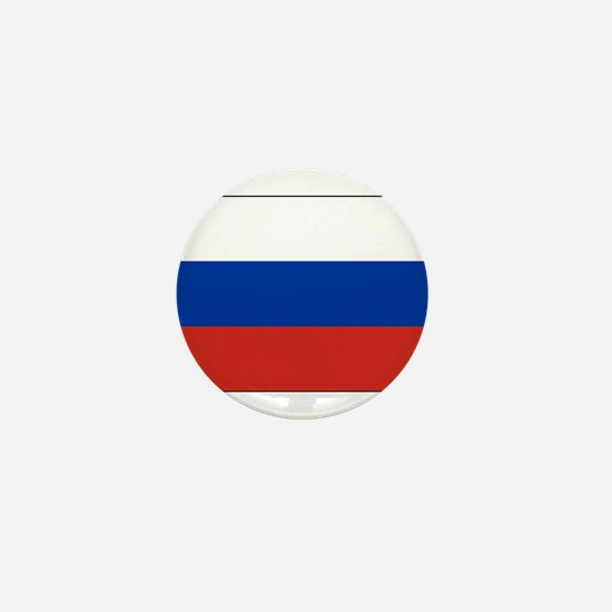 Russia - National Flag - Current Mini Button
