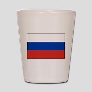 Russia - National Flag - Current Shot Glass