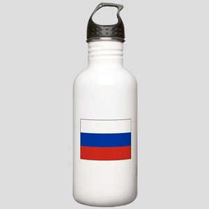 Russia - National Flag - Current Water Bottle