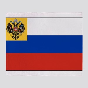 Russia - National Flag - 1914-1917 Throw Blanket