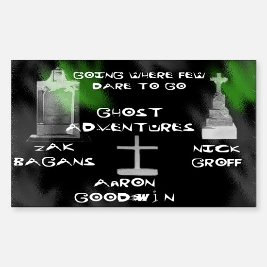 Ghost Adventures Sticker (Rectangle)