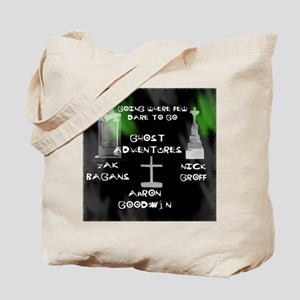 Ghost Adventures Tote Bag