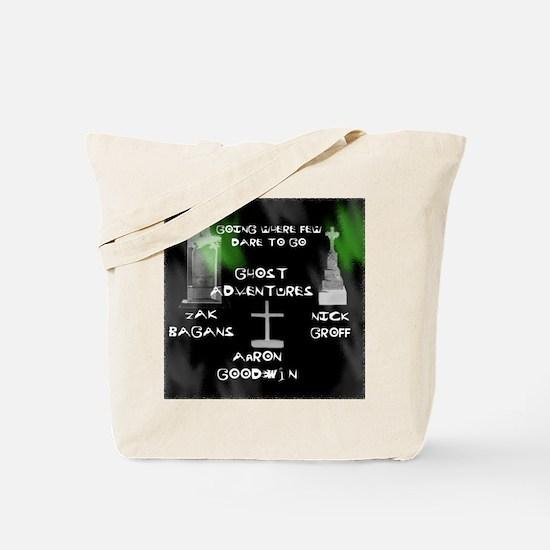 Ghost Adventures Tote Bag
