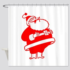 Big Red Santa Shower Curtain
