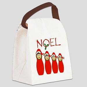 Noel Canvas Lunch Bag