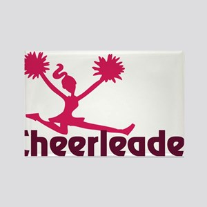 Cheerleader Rectangle Magnet