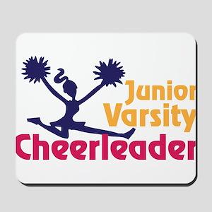 Junior Varsity Cheerleader Mousepad