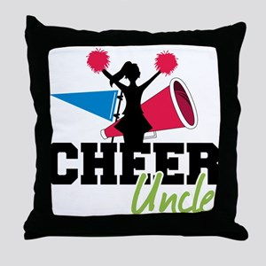 Cheer Uncle Throw Pillow