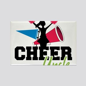 Cheer Uncle Rectangle Magnet