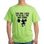 Down low Green T-Shirt