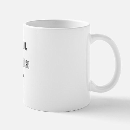 Pluto - Who's Next? Mug