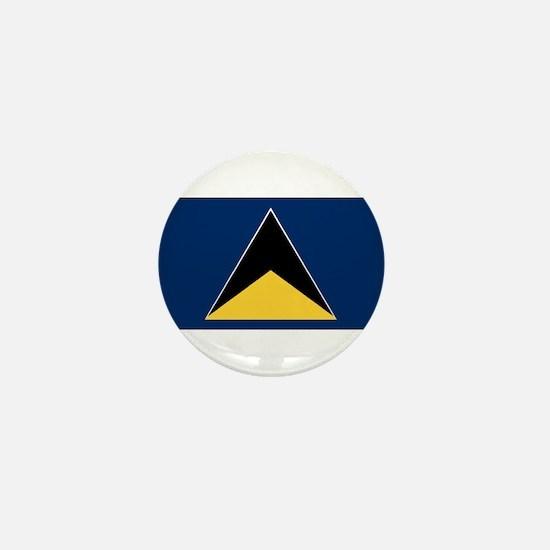 Saint Lucia - National Flag - 1967-1979 Mini Butto