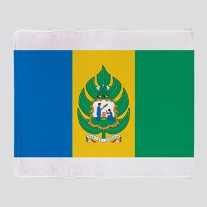 Saint Vincent - National Flag - 1985 Throw Blanket