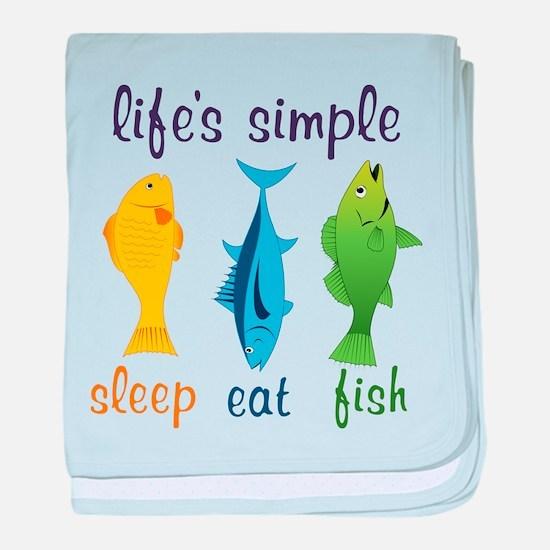 Lifes Simple baby blanket