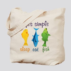 Lifes Simple Tote Bag