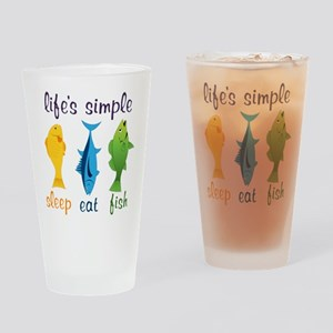 Lifes Simple Drinking Glass