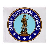 Army national guard Fleece Blankets
