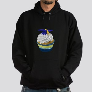 Graduation cupcake Hoodie (dark)
