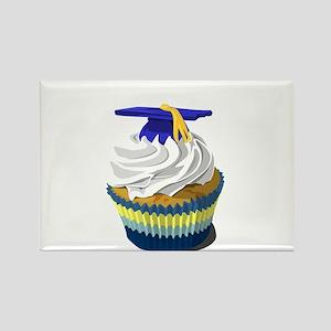 Graduation cupcake Rectangle Magnet
