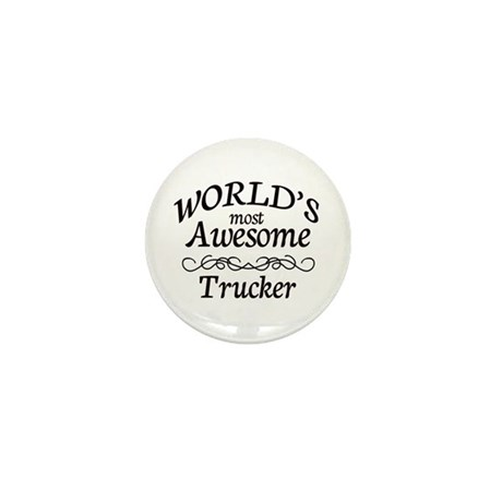 Trucker Mini Button (10 pack)