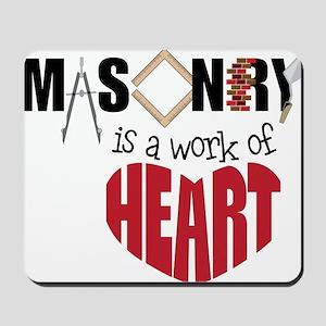 A Work Of Heart Mousepad