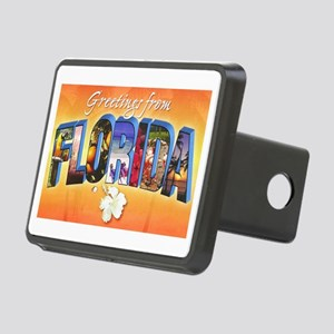 Florida State Greetings Rectangular Hitch Cover
