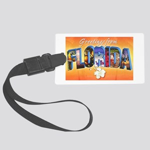 Florida State Greetings Large Luggage Tag