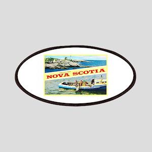 Nova Scotia Canada Greetings Patches