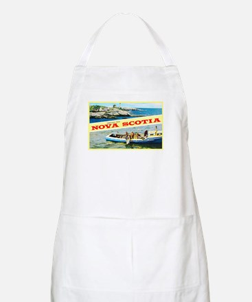 Nova Scotia Canada Greetings Apron