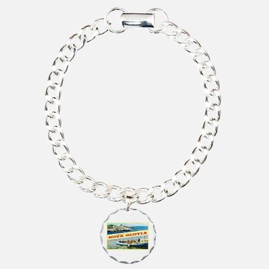 Nova Scotia Canada Greetings Bracelet