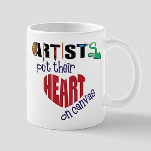 Artists Put Their Heart on Canvas Mug
