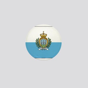 San Marino - National Flag - Current Mini Button