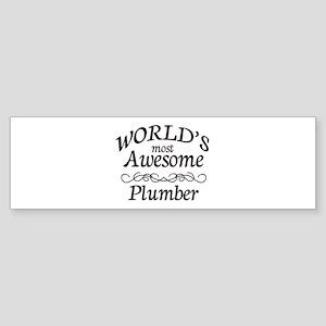 Plumber Sticker (Bumper)