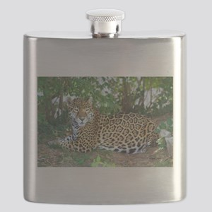 Jaguar (signed) Flask