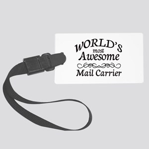 Mail Carrier Large Luggage Tag