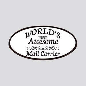 Mail Carrier Patches