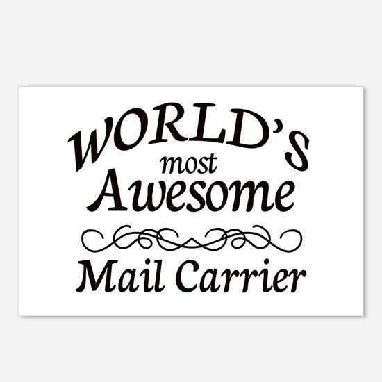 Mail Carrier Postcards (Package of 8)