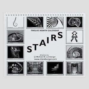 Stairs Wall Calendar