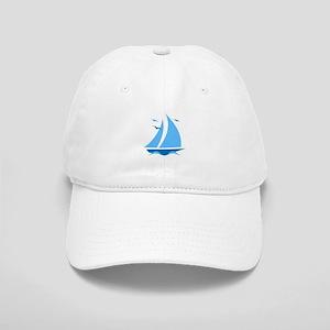 Blue Sailboat Cap