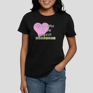 GrandmaAgain_Stripes Women's Dark T-Shirt