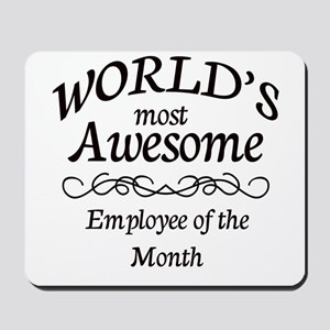 Employee of the Month Mousepad