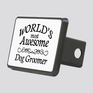 Dog Groomer Rectangular Hitch Cover