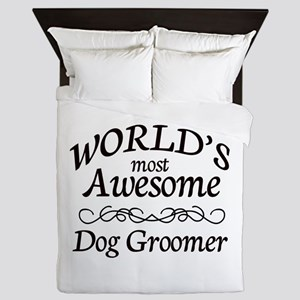 Dog Groomer Queen Duvet