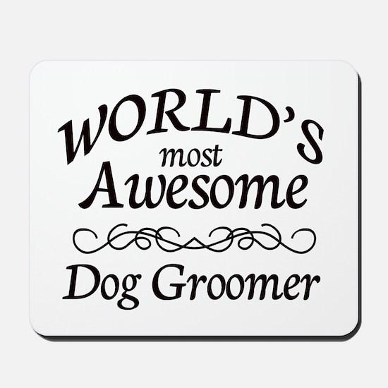 Dog Groomer Mousepad