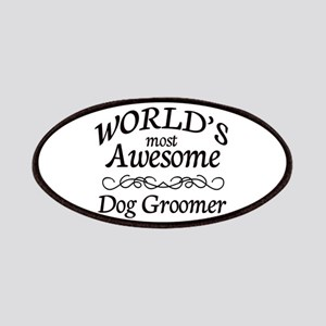 Dog Groomer Patches