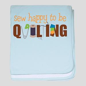 Sew Happy baby blanket
