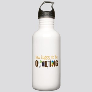 Sew Happy Stainless Water Bottle 1.0L